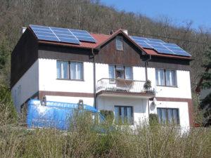 FV elektrárna Praha výkon 5,4 kW