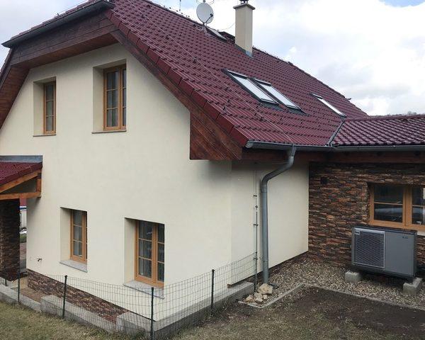Tepené čerpadlo- rodinný dům