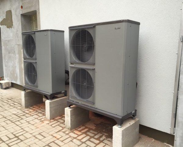 Tepelná čerpadla - venkovní jednotky